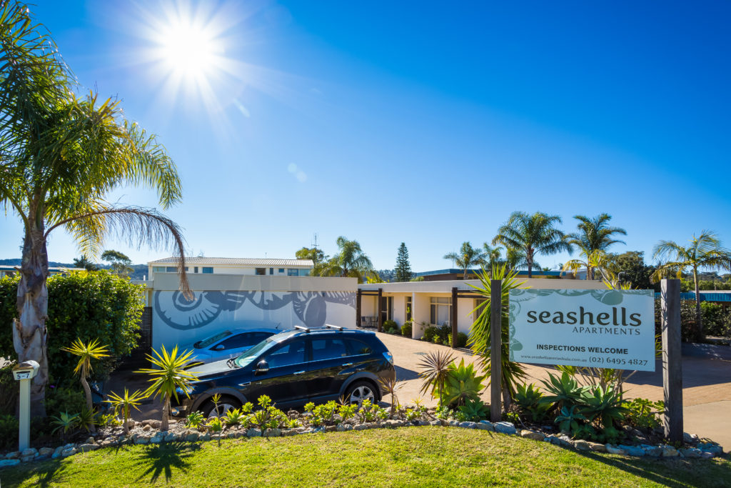 Allocated off-street parking - Seashells Apartments Merimbula